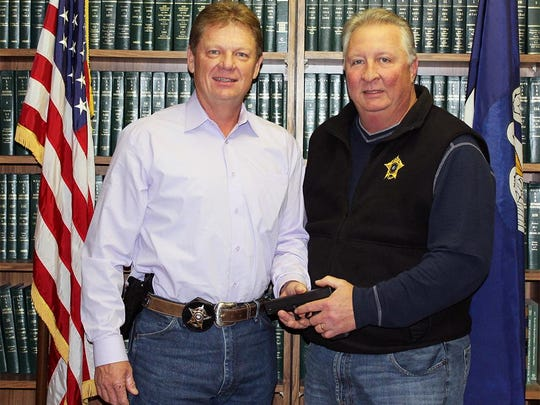 Captain Pat Jones recently retired from DeSoto Parish Sheriff's OFfice.