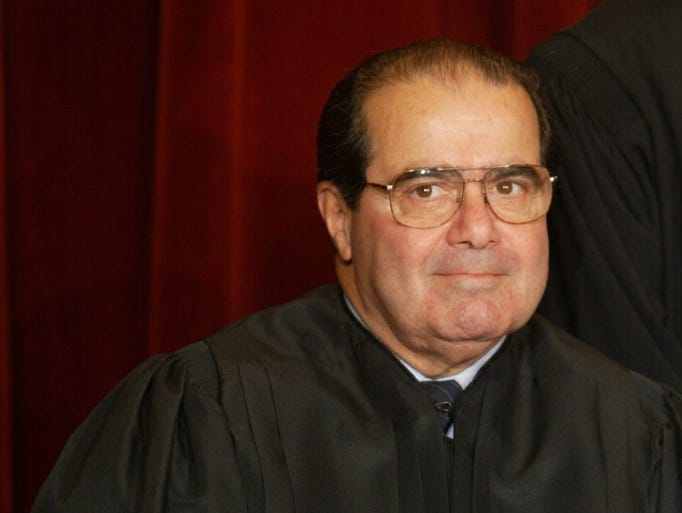 Associate Justice Antonin Scalia pictured in 2003.