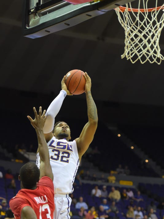 NCAA Basketball: Houston at Louisiana State