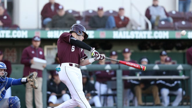 Freshman Luke Alexander and Mississippi State improved to 3-2 with a win against UMass Lowell.