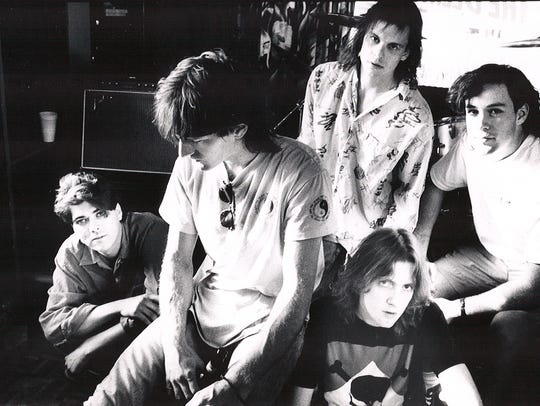 Gin Blossoms circa 1989. First lineup of the Phoenix-based