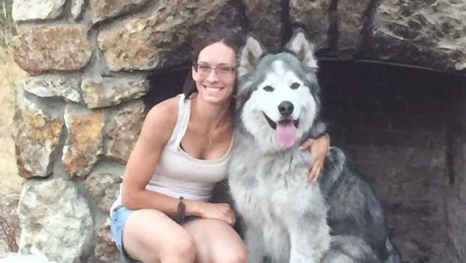Ashley Van Hemet was shot Sunday in an attack in Belgrade that left her roommate dead.  COURTESY PHOTO