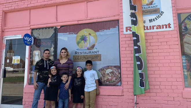 Pedro Sanchez and Aurora Chaidez are the owners of the new Mexican restaurant El Navegante in Monmouth. The couple's children helped name the restaurant.