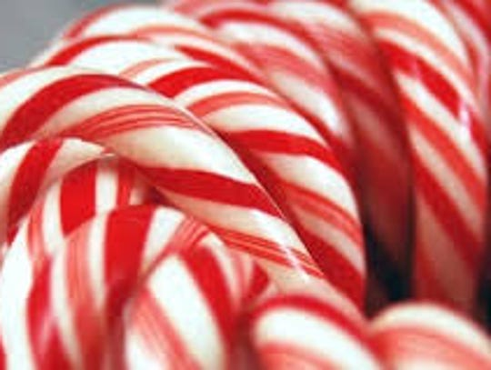 Candy canes are the most popular Christmas treat in