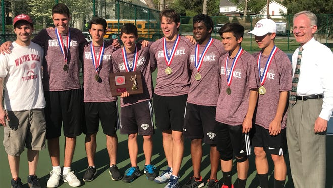 Wayne Hills won every individual title in addition to its 13th straight Passaic County team crown.