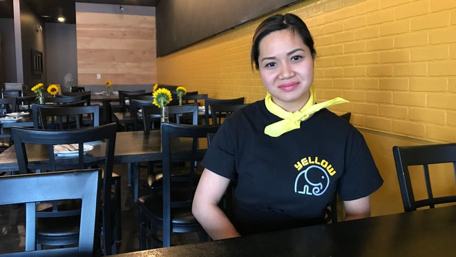 Vicky Chanthavisinh is co-owner of Yellow Elephant.