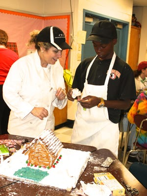 Culinary Arts students at Workman Middle School received hands-on training from real architects from the local chapter of the American Institute of Architects.
