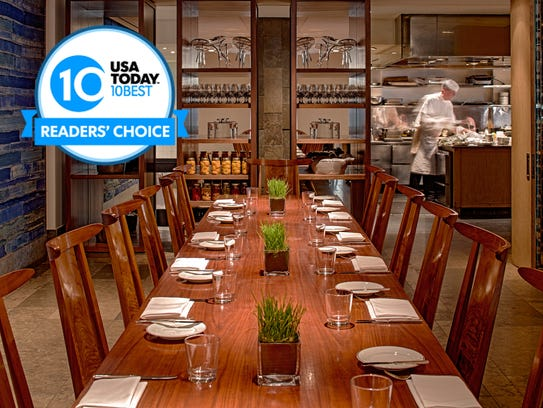 Vote now and vote often for the best hotel restaurant.