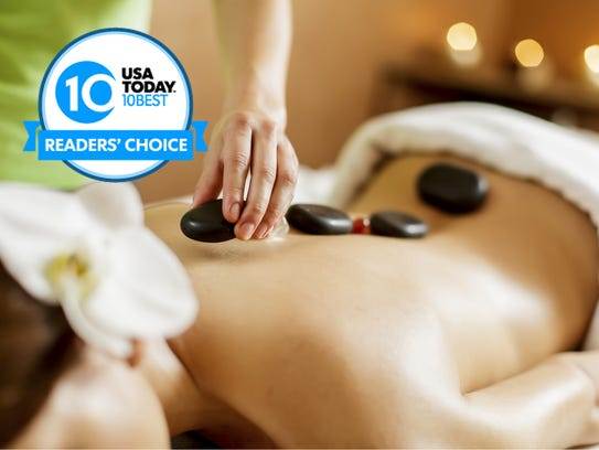 Vote for your favorite hotel spa now through Monday,