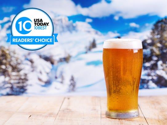 Vote for North America's hottest après-ski spots.