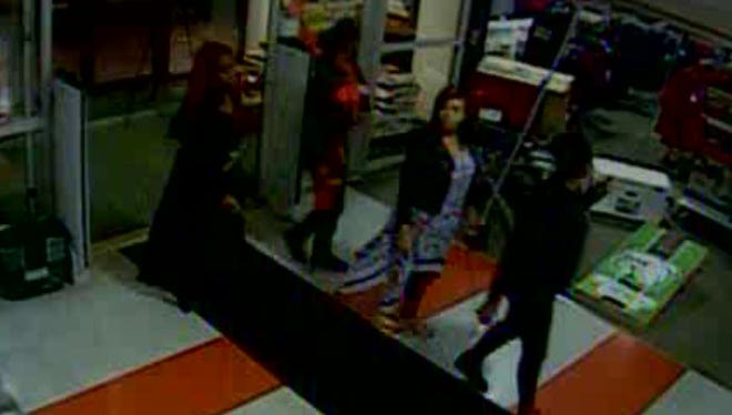 Police are looking for these four women. Do you know them?