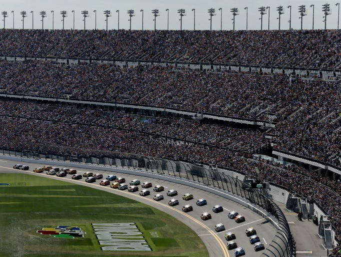 The $400 million renovation of the Daytona speedway's