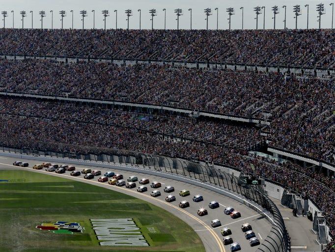 The $400 million renovation of the Daytona speedway's