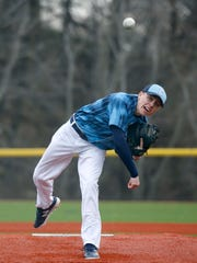 Eastridge's Steve Kemp pitches against Greece Odyssey