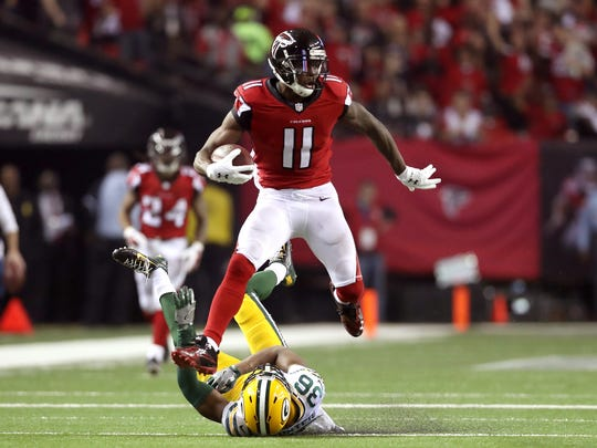 Drafting Julio Jones in 2011 was one of the reasons the Falcons were NFC champions last season.