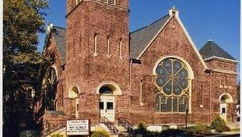 The historic Central Baptist Church, on the corner of Third and East Highland Avenue in Atlantic Highlands.