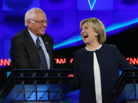 The Quinnipiac University poll, released Friday, Feb. 26, 2016 found that Hillary Clinton leads Bernie Sanders by a margin of 59 percent to 33 percent among likely Florida Democratic voters.