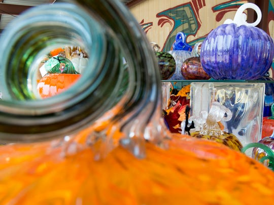 First City Art Center's Glass Pumpkin Patch and Preview Party on Friday and Saturday will offer more than 4,500 hand-blown glass and hand-thrown clay pumpkins for sale.