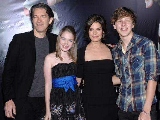 Howard Sherman, Annabella Sherman, Sela Ward, Austin Sherman