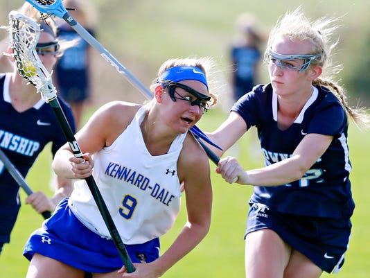 Kennard-Dale vs Manheim Township in girls' lacrosse
