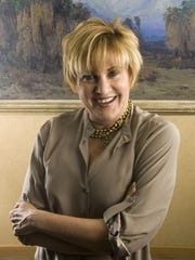 Lorna Luft photographed on Tuesday, March 9, 2010 at The Living Desert in Palm Desert.