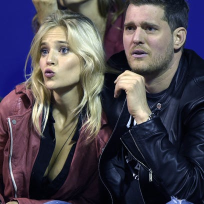 Michael Bublé and his wife, Argentine actress Luisana