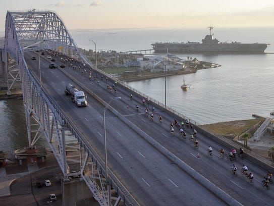 The 14th annual Conquer the Coast ride features a 65-mile