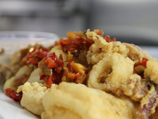 Start off your meal at Asbury Park's Fish with a plate