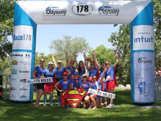 Reno Tahoe Odyssey team