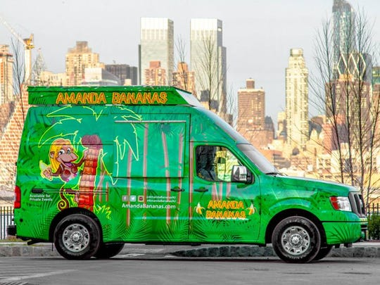 Amanda Bananas, featuring ice cream-like but non-dairy