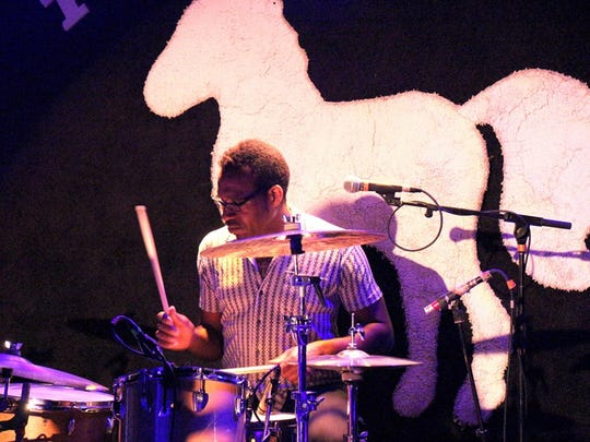 Claude Coleman Jr. at the Stone Pony in Asbury Park.
