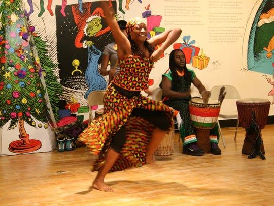 Celebrate Kwanzaa at the Children's Museum Of Manhattan.