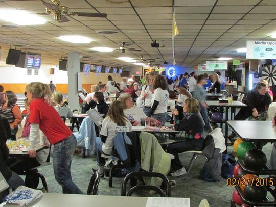 The 2016 Bowl for Kids' Sake will take place Friday