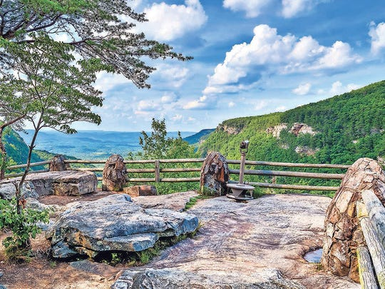 Primary overlook at Cloudland Canyon State Park