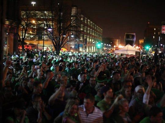 St. Patrick's Day Block Party at Mickey's Irish Pub Downtown