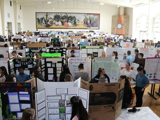 A total of 346 projects were entered at this year's fair held at CSU Monterey Bay.