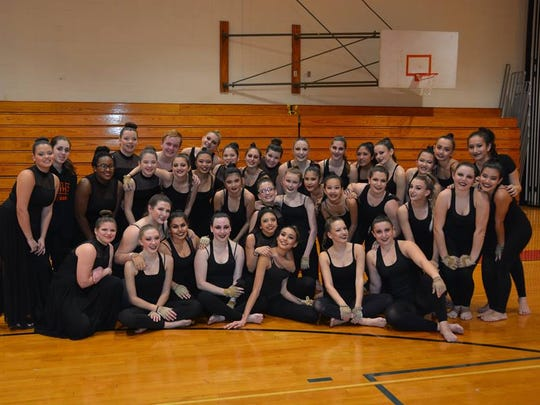 Pictured are the performers of the Somerville High