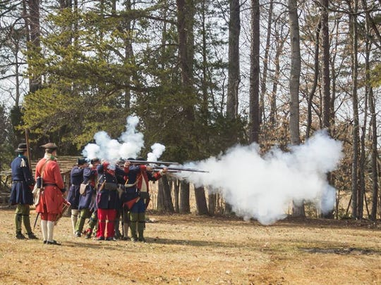 Learn about the French and Indian War at Fort Dobbs, near Statesville.