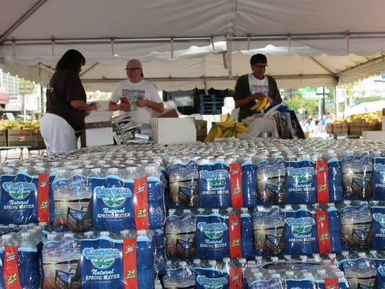 Absopure in Plymouth has donated 8,500 gallons of free