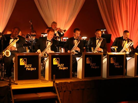 Music director, Mike Ritter and the Cumberland Winds Jazz Project.