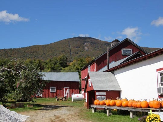 Jaeschke's Orchard in Adams, Massachusetts, seen here