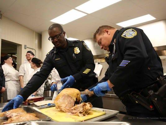 Milwaukee police at MATC