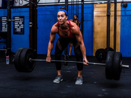 FGCU alum Cheyenne (Jenks) Rotunno can clean and jerk 345 pounds. She was on the Nov. 20 episode of the Broken Skull Challenge.