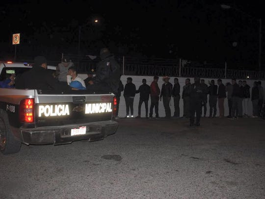 Juárez police detained hundreds at a weekend party.