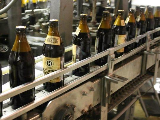 Hinterland's Bourbon Barrel Doppelbock, a limited release,