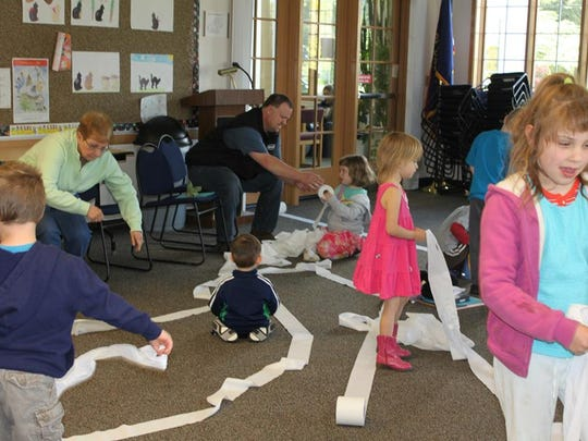 There's plenty of energy to spread around at the Stayton Library