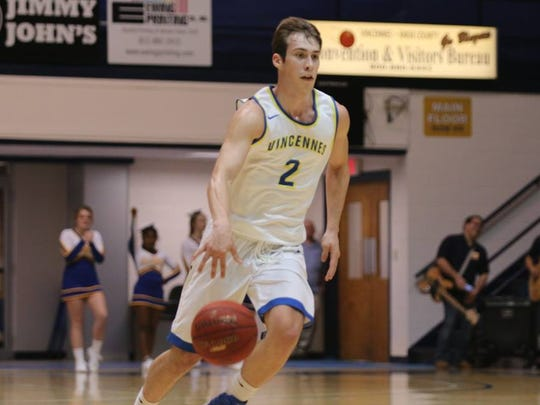 Vincennes University shooting guard Nate Hansen, an Evansville native, has committed to play at Southern Indiana alongside former Reitz High teammates Alex Stein and Jacob Norman.