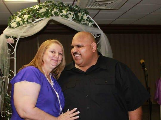 Brenda Sisneros and Abbas Al-Sokaini have been married