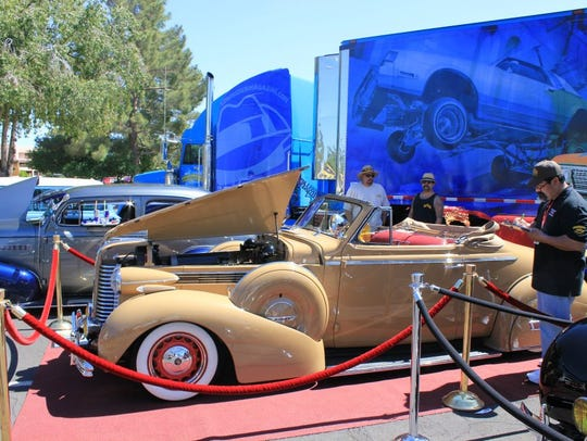 The Showcase Supershow draws cars, trucks, motorcycles,