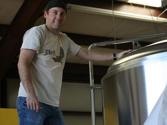 Wildcard Brewering co-founder Jeff Hansen is the company's brew master.